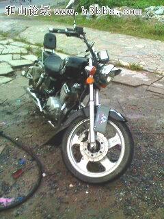 转让大地鹰王太子摩托车..高清图片